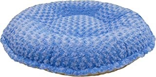 product image for BESSIE AND BARNIE Camel Rose/ Blue Sky Luxury Ultra Plush Faux Fur Bagelette Pet/Dog Bed (Multiple Sizes)