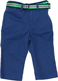Polo Ralph Lauren Baby Boys Belted Stretch Chino Pants