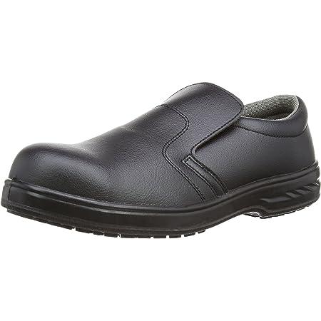 Portwest FW81 - Slip-On de seguridad S2 Zapato, color Negro, talla 37