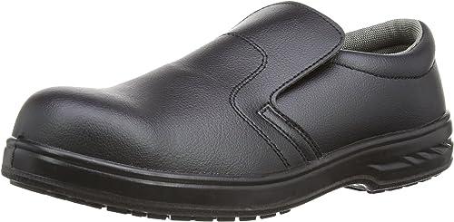Portwest FW81 - Slip-On de seguridad S2 Zapaño, Color negro, Talla 37