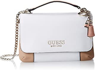 Guess Womens Cross-Body Handbag, White Multi - CB766921