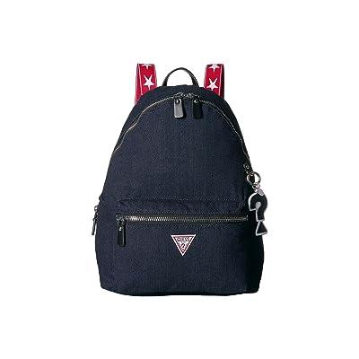 GUESS Voyage Large Backpack (Denim) Backpack Bags