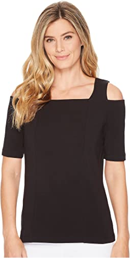 NIC+ZOE Perfect Cold Shoulder Top