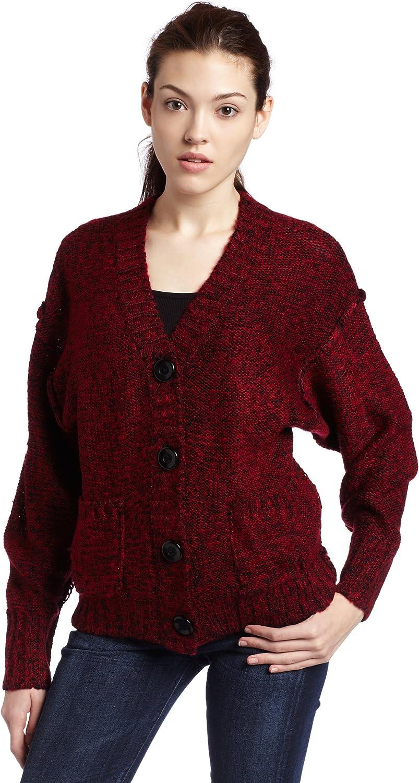 Kensie Girl Juniors Soft Melange Button Up Cozy Cardigan