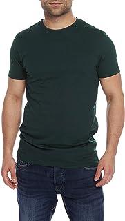 Charles Wilson Men's Plain Crew Neck T-Shirt