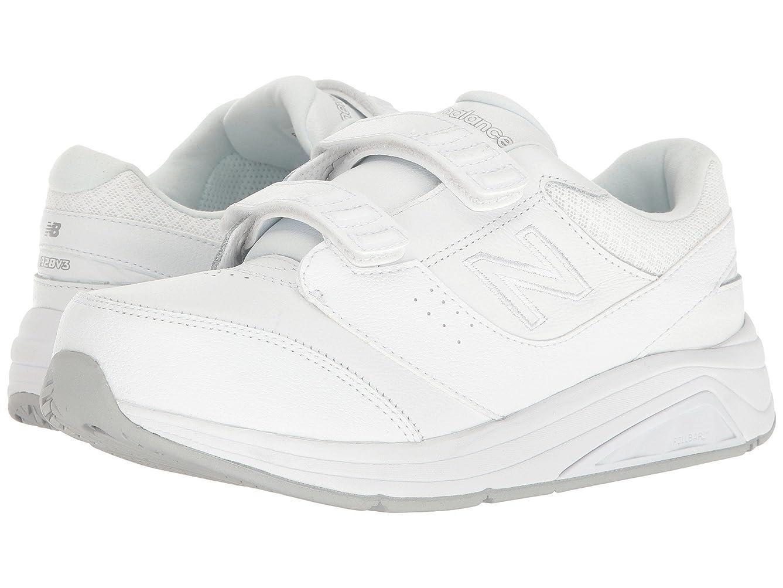 油排気簡単なレディースウォーキングシューズ?靴 WW928v3 White/White 8 (25cm) D - Wide [並行輸入品]