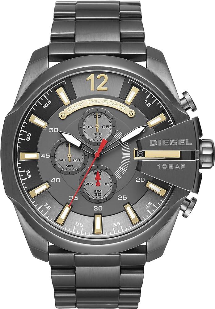 Diesel orologio cronografo da uomo in acciaio inossidabile DZ4421