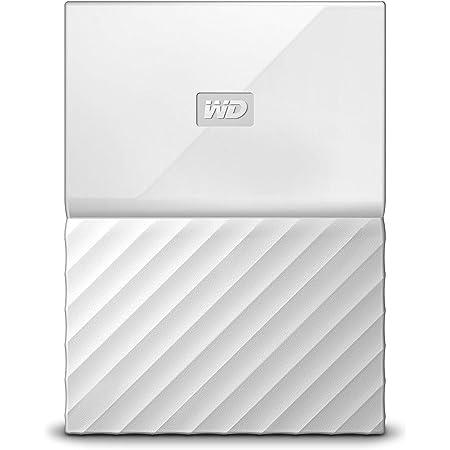 Western Digital 4TB White My Passport Portable External Hard Drive - USB 3.0 - Western DigitalBYFT0040BWT-WESN