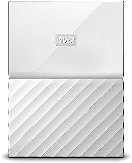 WD 1TB White USB 3.0 My Passport Portable External Hard Drive (WDBYNN0010BWT-WESN)