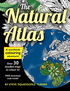 The Natural Atlas: A Worldwide Adult Coloring Book