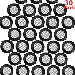 Poolan 30 Pack Shower Head Washers Rubber Washers Seals, Self Locking Tabs Keep Washer Firmly Set Inside Fittings for 1/2 Inch Shower Hose Heads