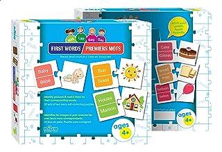 لعبة تعليم كلمات اللغة الانجليزية والفرنسية من نيلكو - متعددة الالوان