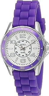 اكس او اكس او ساعة رسمية نساء انالوج بعقارب Rubber - XO8084