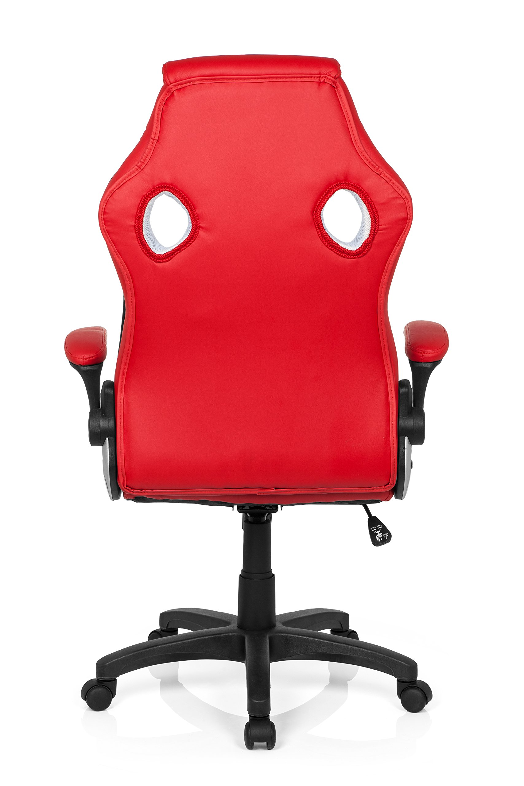 Office Chair Gaming Chair fold back armrests Red White GAMING ZONE PRO CL100