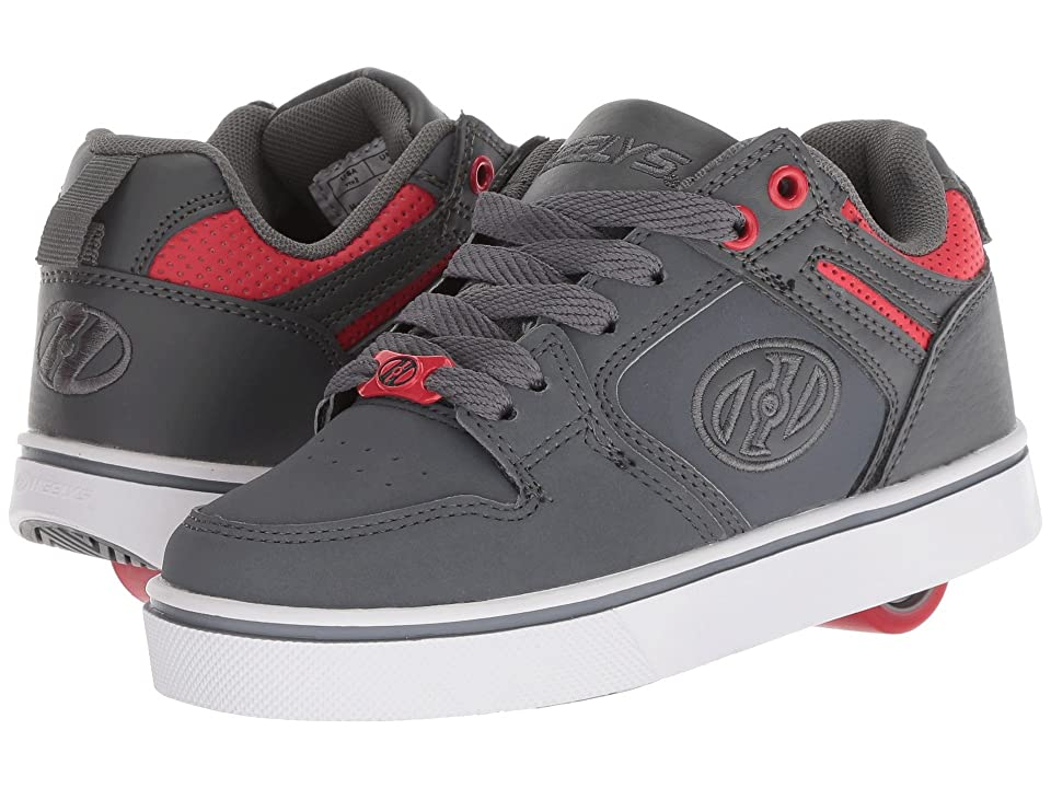 Heelys Motion 2.0 (Little Kid/Big Kid/Adult) (Charcoal/Red) Boys Shoes