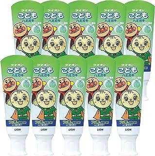 狮子 儿童牙膏 蜜瓜(面包超人) 40g 10個