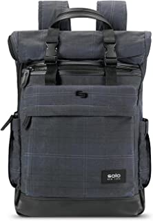 Solo Cameron Waxed Canvas Rolltop Backpack