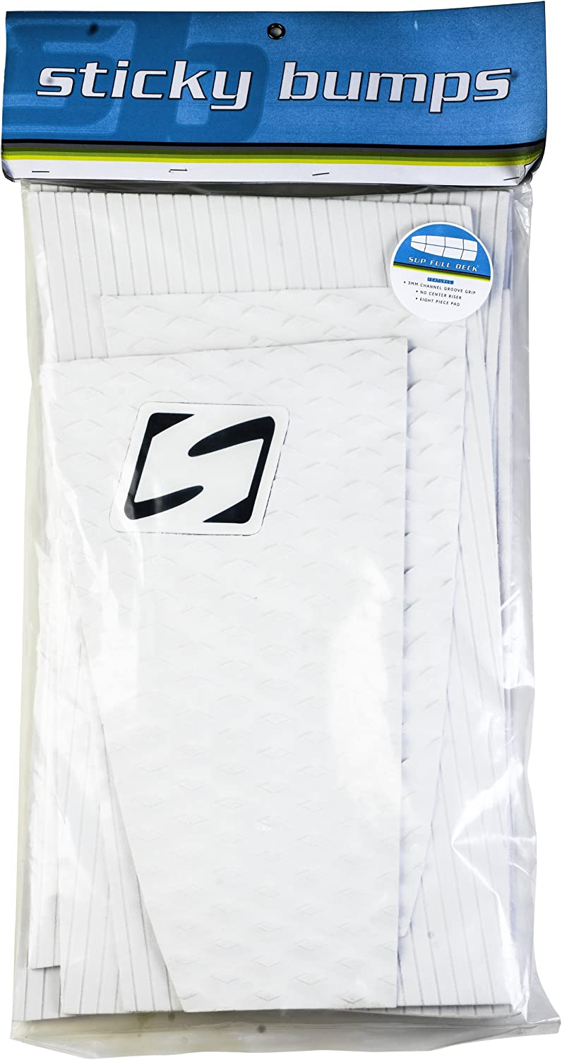 (white)  Sticky Bumps SUP Full Traction