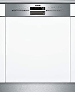 Siemens SN536S03JE iQ300 - Lavavajillas parcialmente integrado (A++, 262 kWh/año, 2660 L/año, varioSpeed Plus, cristal 40)