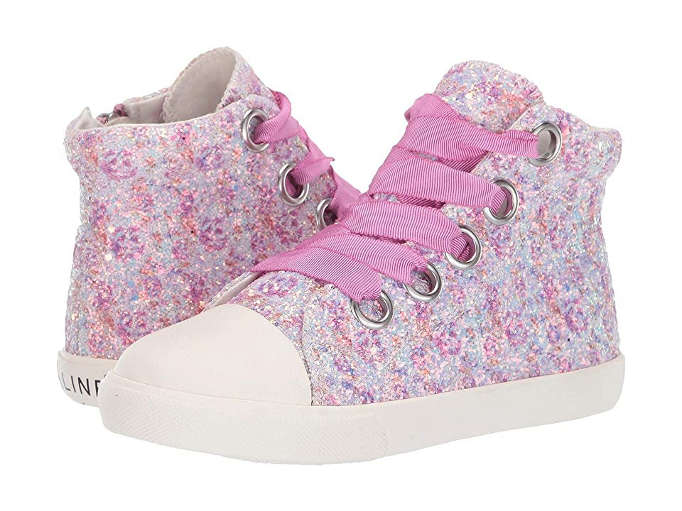Amiana 6-A0920 (Toddler/Little Kid/Big Kid/Adult) (Purple Floral Glitter) Girl