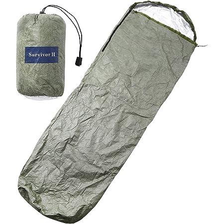 シュラフカバー エスケープ ビヴィ 180g 超小型軽量なのに保温効果