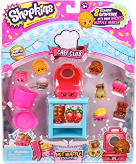 Shopkins Chef Club limited Season Hot Waffle Collection
