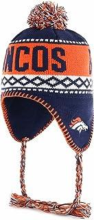 OTS NFL Abenaki Sherpa Knit Cap with Pom, One Size