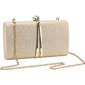 BETOY Sac de Soir/ée en Paillettes Pochette Enveloppe Femme Sac a Main Enveloppe pour Party Prom Wedding Envelope Handbag
