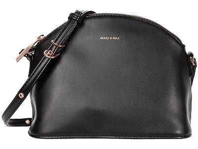 Matt & Nat Leona Loom (Black/Rose Gold) Cross Body Handbags