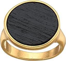 Lucky Brand Black Wood Ring