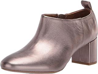 Aerosoles Women's CAYUTA Ankle Boot, Champagne Leather, 7.5 M US