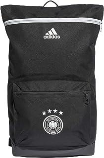 adidas Unisex-Adult Backpack, Carbon/White - FJ0825