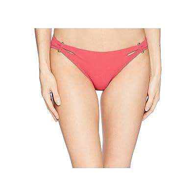 Robin Piccone Luca Cutout Bikini Bottom (Pink) Women