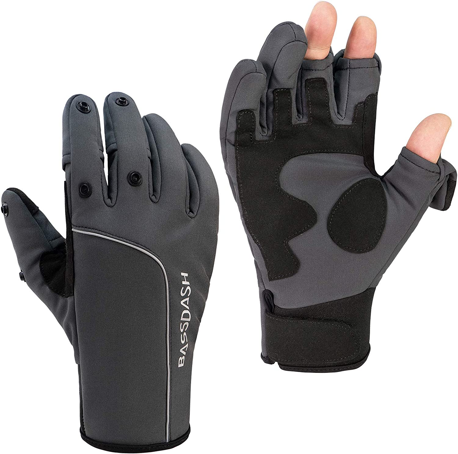 BASSDASH WintePro Insulated Fishing Repellent with Gloves Discount Free shipping / New is also underway Water