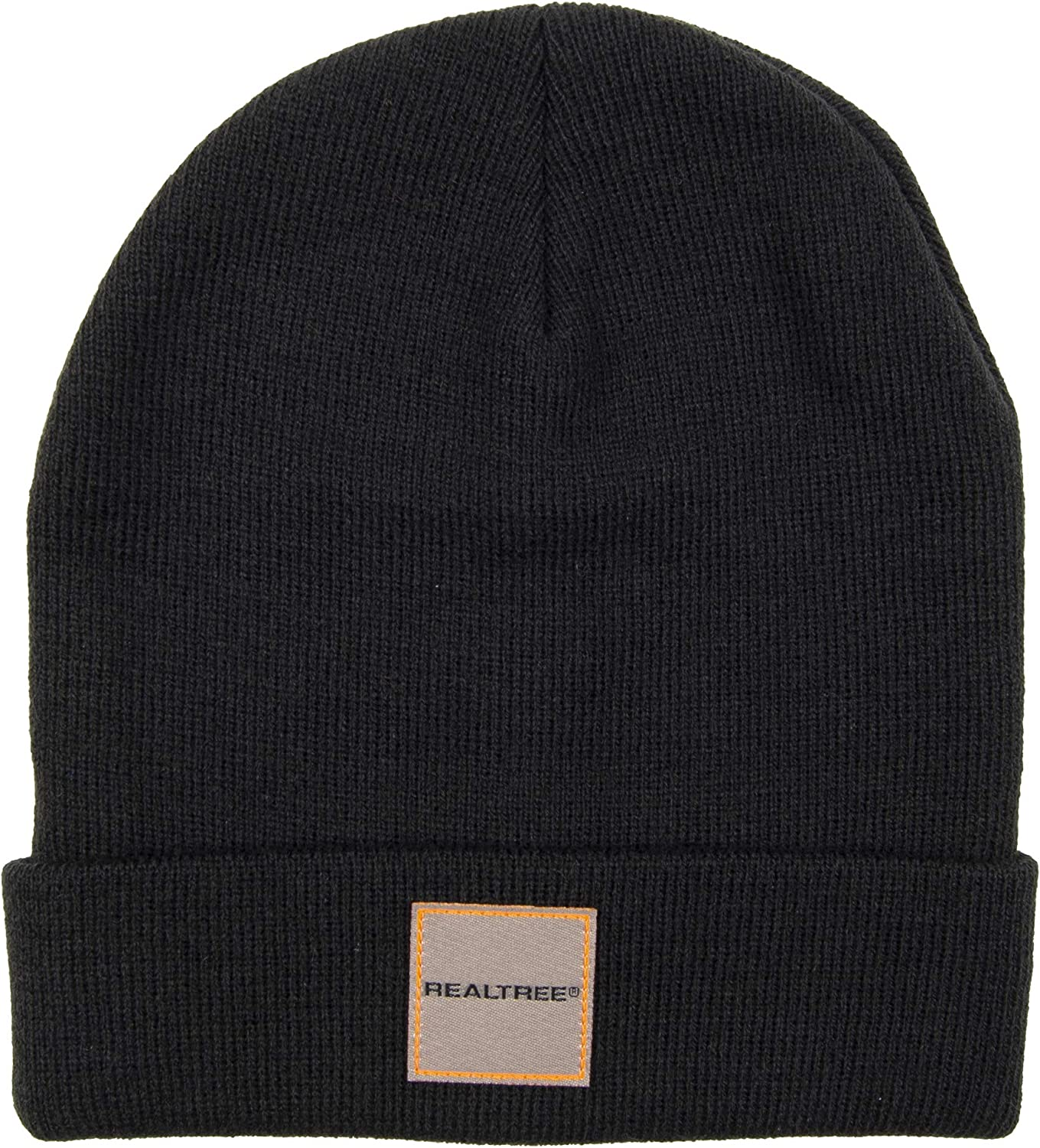 Real Tree Cash Long Beach Mall special price Men's Cold Weather Warm Hat Knit Beanie Black Winter