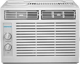 Emerson Quiet Kool EARC5MD1 5,000 BTU 115V Window Air Conditioner, 5000 Mechanical Standard, White