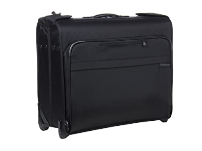 Briggs & Riley Baseline Deluxe Wheeled Garment Bag (Black) Luggage