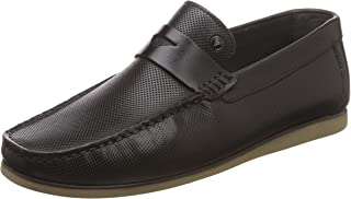 Van Heusen Men's Leather Loafers