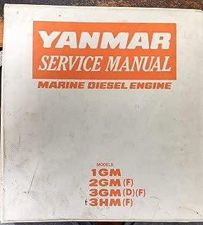 Yanmar Service Manual, Marine Diesel Engine: Models 1GM10(C), 2GM20(F)(C), 3GM30(F)(C), and 3HM35(F)(C)