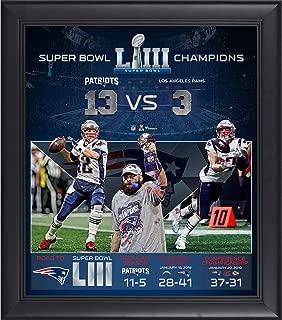 New England Patriots Framed 15