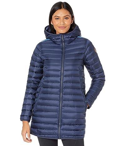 Burton Evergreen Long Down Jacket (Dress Blue/Blue Dailola Shibori) Women