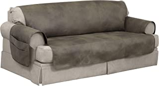 Serta   Faux Leather Furniture Protector with Neverwet Technology, Fits Most Sofas up to, 70