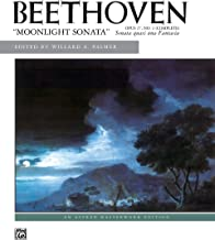 Moonlight Sonata, Op. 27, No. 2 (Complete) (Alfred Masterwork Edition)