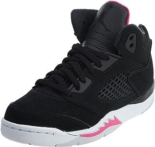 f0d0240a527ac7 NIKE Little Kids Jordan 5 Retro Girls Fashion Sneaker