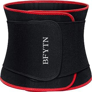 BFYTN Waist Trainer Trimmer Slimming Belt Sport Girdle Waist Trainer Belt for for Women Man Neoprene Sauna Sweat Belly Band Weight Loss Body Shaper