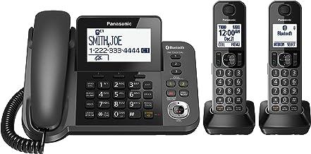 Panasonic KX-TGF382M DECT 6.0 Plus Corded/Cordless 2-Handset Landline Telephone System (Renewed) photo