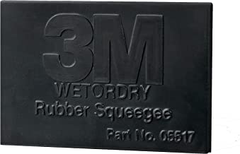3M 05517 3M Wetordry Rubber Squeegee, 05517, 2 3/4 in x 4 1/4 in