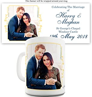 Twisted Envy Harry And Meghan Marriage Windsor Castle Ceramic Mug