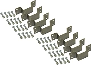 Rigid Hitch 8-Pack Bolt-On Stake Pockets with Mounting Hardware
