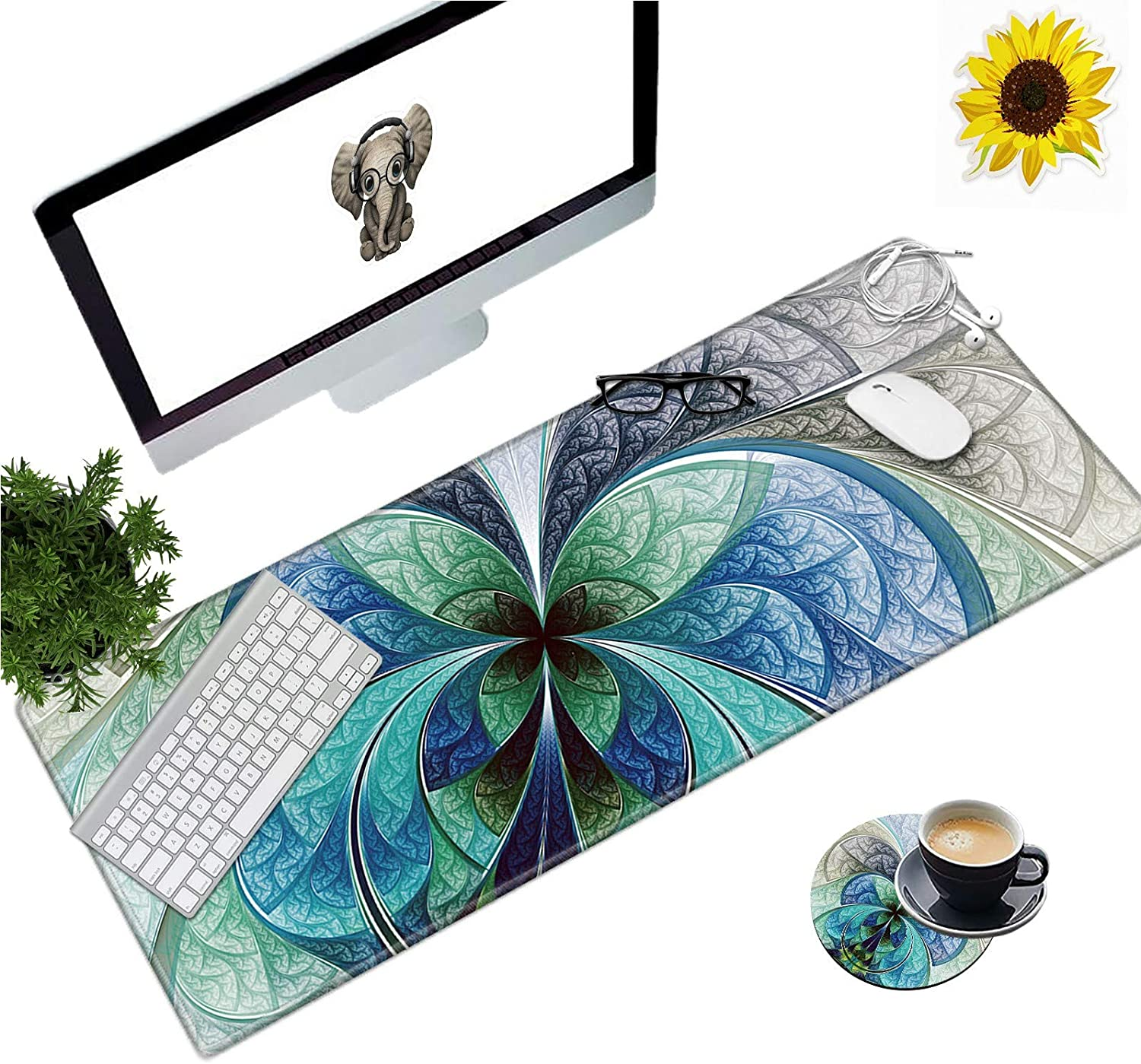 Large Gaming Mouse New sales Oakland Mall Pad Office XL Soft Non-Slip Mousepad Extended